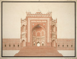 Buland Darwaza, Fatehpur Sikri 1801